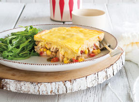 Comforting Chicken Tamale Pie