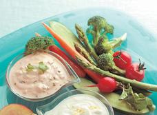 Coriander & Salsa Veggie Dip recipe