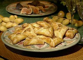 Corniottes (cheese pockets)