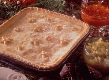Country Style Meat Pie Recipe
