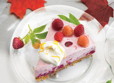 Cranberry Cheesecake (Cooking Club Size)