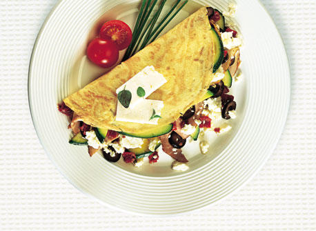 Crazy Omelettes Recipe