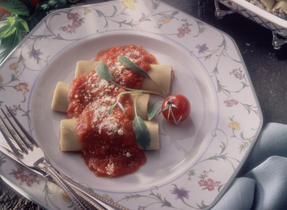 Cream Cheese and Walnut Cannelloni