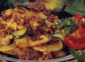 Creamy Beef and Potato Bake