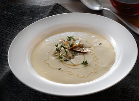 Creamy Roasted Garlic Soup Recipe