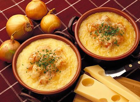 Creamy Swiss Onion Soup Recipe Dairy Goodness