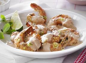 "Creamy ""Tandoori"" Style Shrimp"