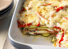 Creamy Three Cheese Vegetable Lasagna (Cooking Club Size)