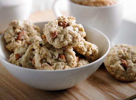 Crispy Almond Coconut Cookies Recipe