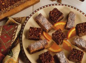 Crispy Chocolate Peanut Squares