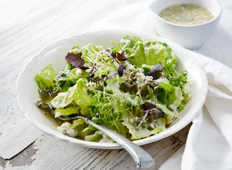 Crumbled cheese dressing Recipe