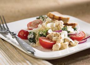 Crunchy Cauliflower Salad with Cheddar