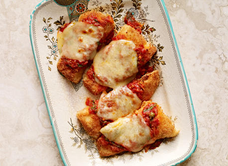 Crunchy Fish Parmigiana Recipe