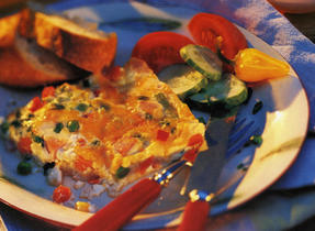 Crustless Country Quiche