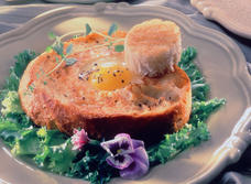 Crusty Sunny Side-up Eggs recipe
