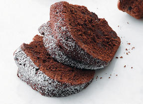 Dark Chocolate Pound Cake