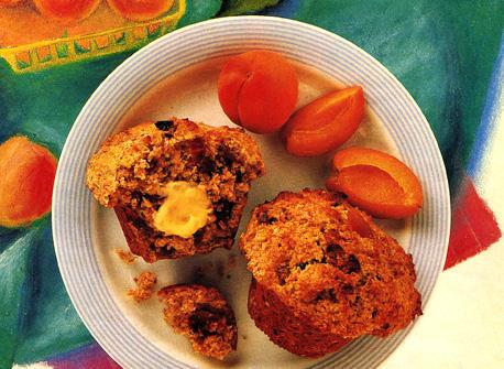 Date and Apricot Bran Muffins Recipe