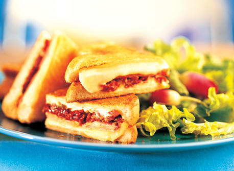 Decadent Grilled Cheese Sandwich Recipe