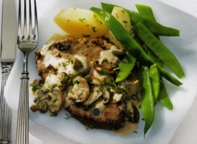 Dijonnaise Veal Scaloppine