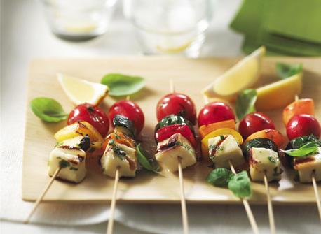 DORÉ-MI Cheese Brochettes Recipe