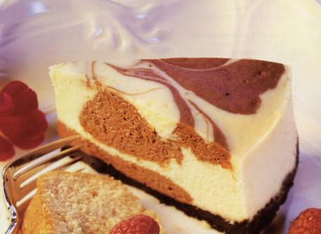 Chocolate Raspberry Swirl Cake