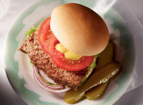 Double-Duty Meatloaf & Burgers