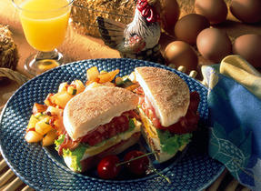 Easy Egg Sandwich