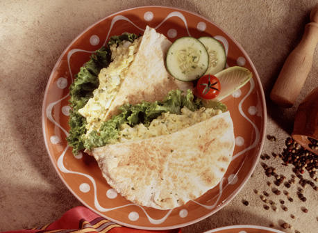 Egg Salad Pitas Recipe