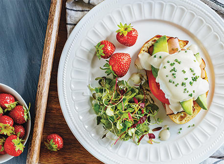 Eggs Benedict with a Twist Recipe
