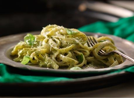 Emerald Isle Pesto Pasta Recipe