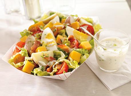 Everyone's Favourite Potato and Cheddar Salad Recipe