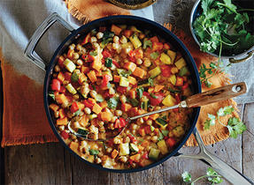 Fall Vegetable and Chickpea Curry