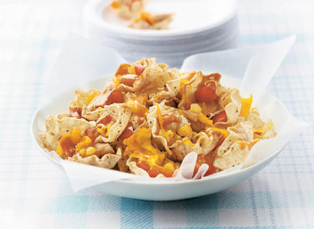 Family-Night Chicken Nachos  Recipe