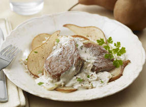 Farmers' Favourite Pork and Pears