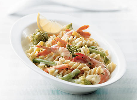 Faster-than-Fast Shrimp Fusilli Recipe