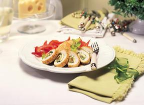 Festive Chicken Roll-ups