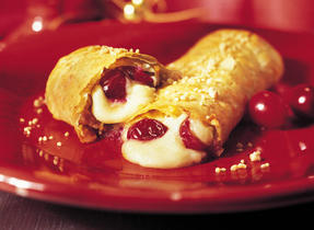 Festive Pastries with Gouda