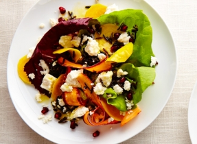 Feta wild rice citrus salad