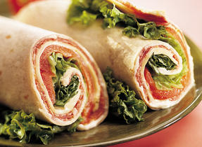 Fiesta Tuna Wraps with Canadian Swiss Cheese