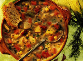 Fireside Winter Vegetable Chowder