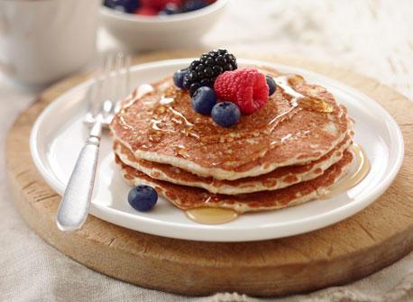 Fluffy Bran Pancakes Recipe