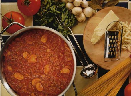 Freezer Cheddar Beef Sauce Recipe