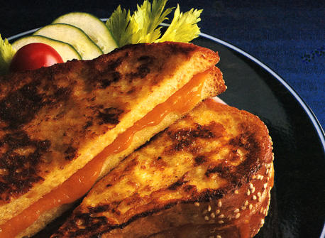 French Toasted Cheese Sandwiches Recipe