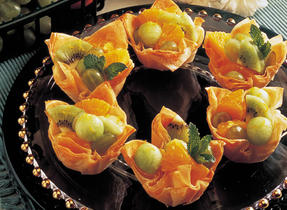 Fruit Phyllo Cups