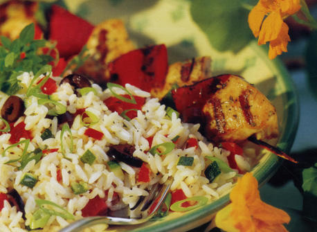 Garden Fresh Rice Medley Recipe