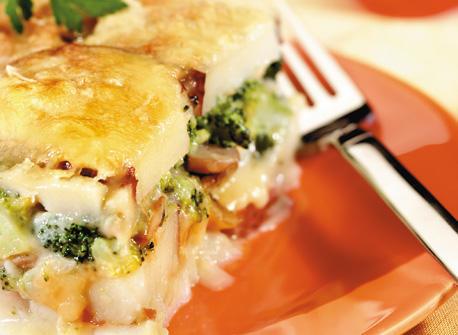 Garden Vegetable Raclette Recipe