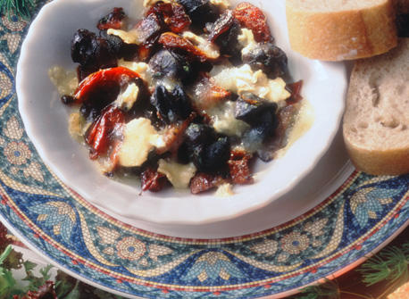 Garlic and Dried Tomatoes Snails Au Gratin Recipe