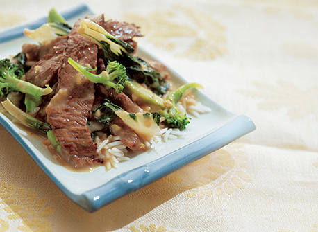 Ginger Beef and Broccoli Stir-Fry recipe | Dairy Goodness