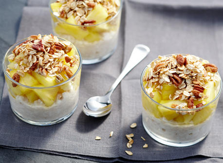 ginger granola pineapple cottage cheese recipe dairy goodness rh dairygoodness ca  cottage cheese and pineapple dessert recipes
