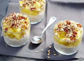 Ginger Granola & Pineapple Cottage Cheese